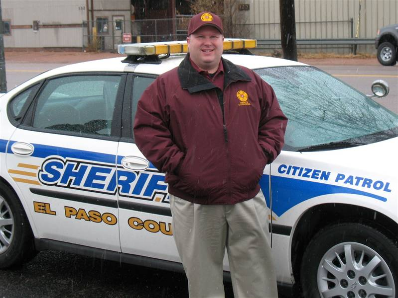 Brian In Sheriff's Citizen Patrol Uniform